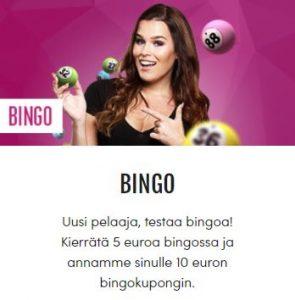 Casinohuoneen bingoetu
